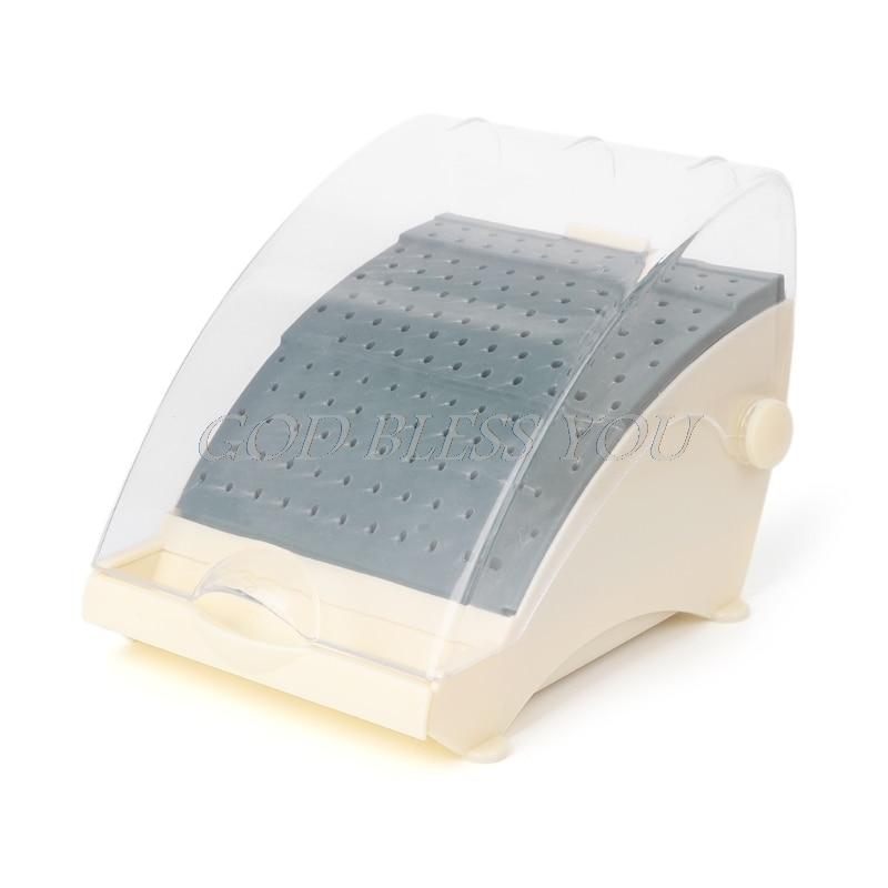 168/142 buracos dente bur bloco titular autoclave esterilizador caso caixa de desinfecção novo detém/titular estação + puxe gaveta