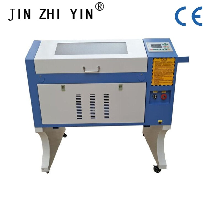 Máquina de grabado láser de precisión máquina de grabado láser 50W co2 6040 máquina de grabado y corte láser sistema Ruida