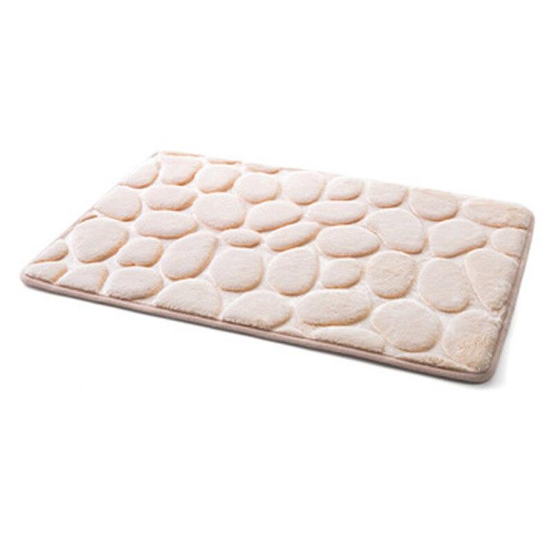 Flannel Bathroom Memory Foam Rug Kit Toilet Pattern Bath Non-slip Mats Floor Carpet Set Mattress for Bathroom Decor