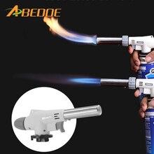 Gas Burner Flame Gas Torch Flame Gun Blowtorch Cooking Soldering Butane AutoIgnition Gas-Burner Lighter Heating Welding