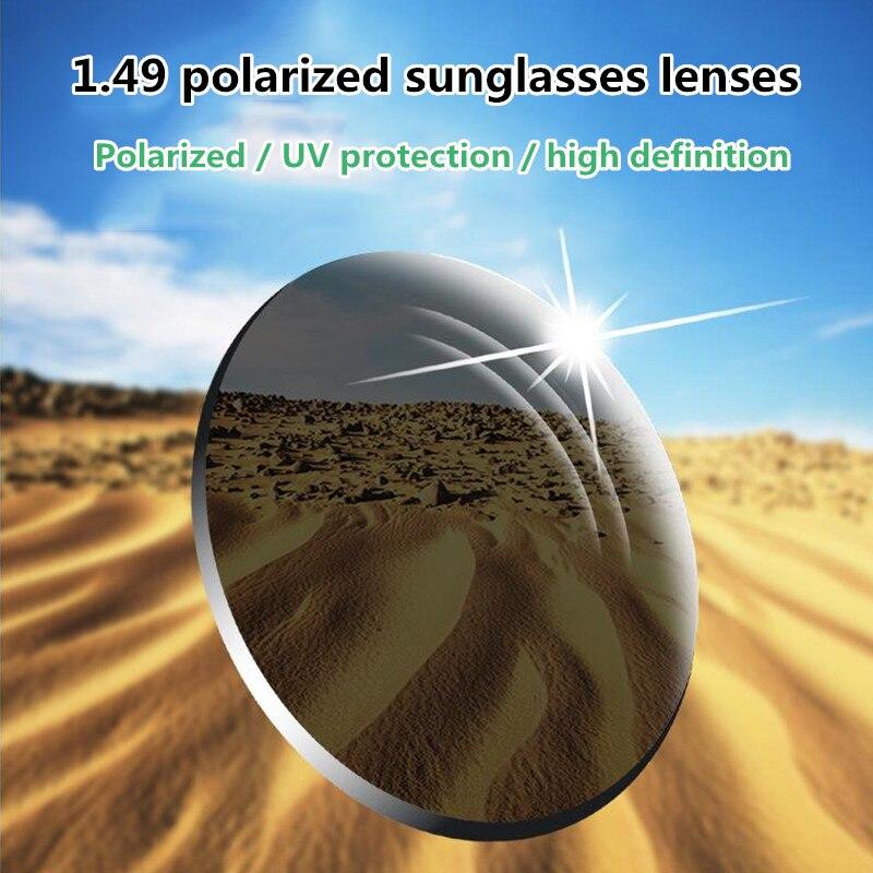 1.61 High Quality TAG Brand Polarized Sunglasses Prescription Lens Sunglasses Black / Gray / Turquoise / Brown