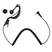 2.5mm g-crochet écouteur écouteur pour lécoute unique oreille écouteur pour Motorola GP2000 ICOM IC-U16