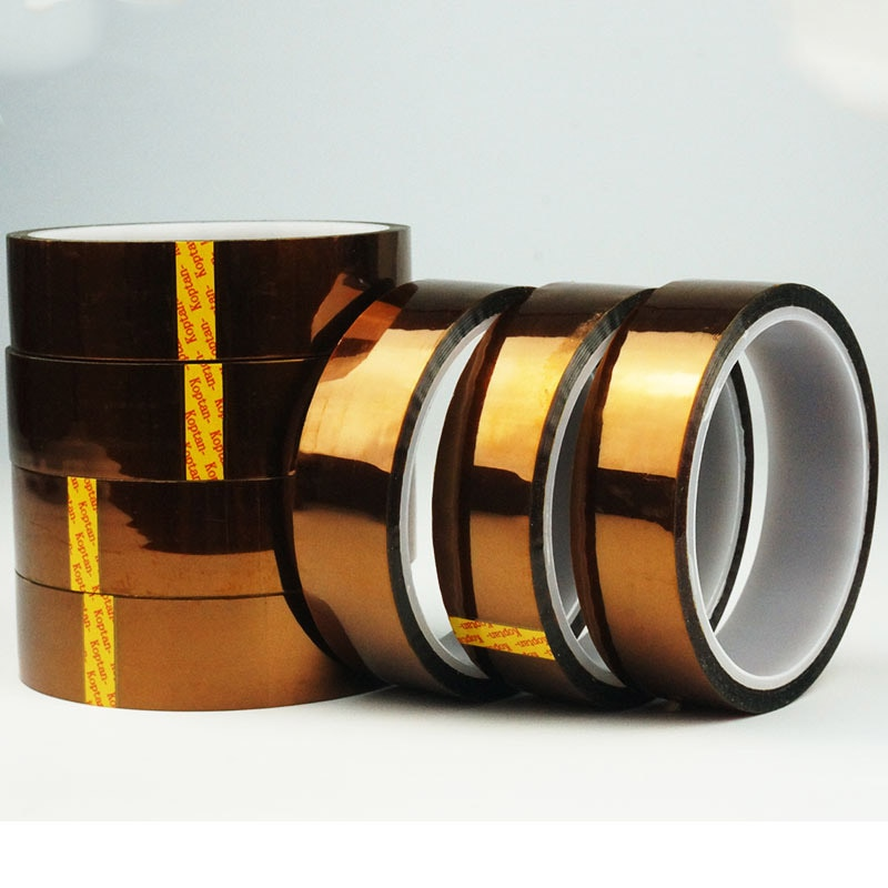 1 Roll 33 meters High-temperature tape , Polyimide  Kapoton tape, Industry heat-resistant adhesive