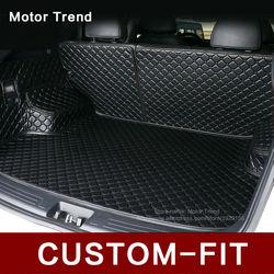 Ajuste personalizado mat mala do carro para Infiniti EX25 FX45/50 G35/37 Q70L QX80/56 3D all weather estilo do carro bandeja tapete de carga forro