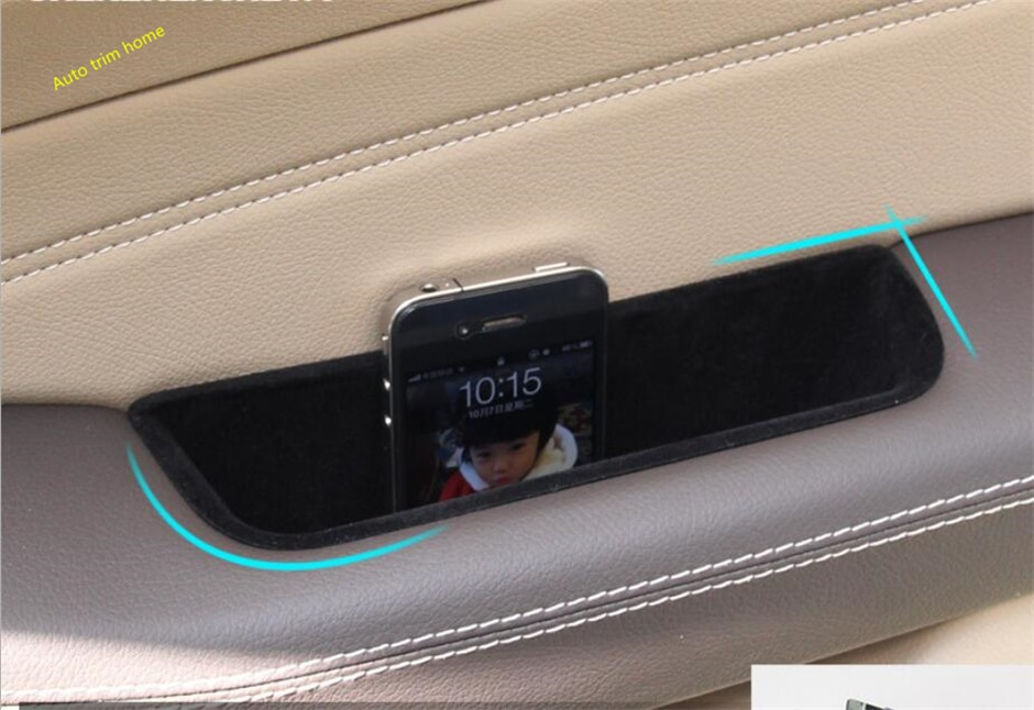 Kit de cubierta de compartimento de reposabrazos para contenedor de puerta delantera de coche Lapetus para mercedes-benz GLE W166 Coupe C292 2015 - 2018 accesorios para automóviles