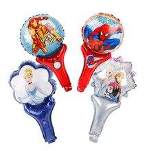 40 teile/los Superman prinzessin folie ballons superheld Hulk stick globos geburtstag party dekoration kind spielzeug wholeasle
