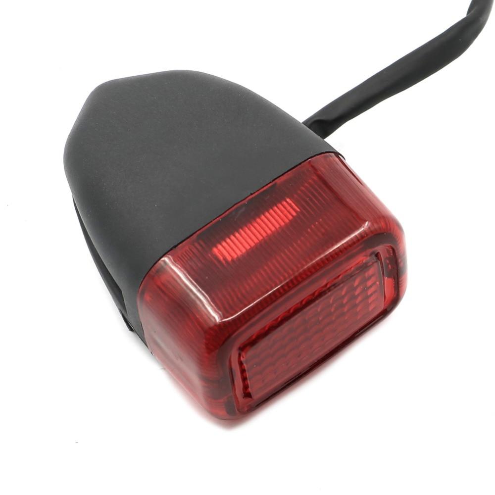 Para Yamaha XG250 Tricker XG 250, luces traseras de plástico para motocicleta, luz de detención de freno trasero, carcasa para lámpara de luz trasera