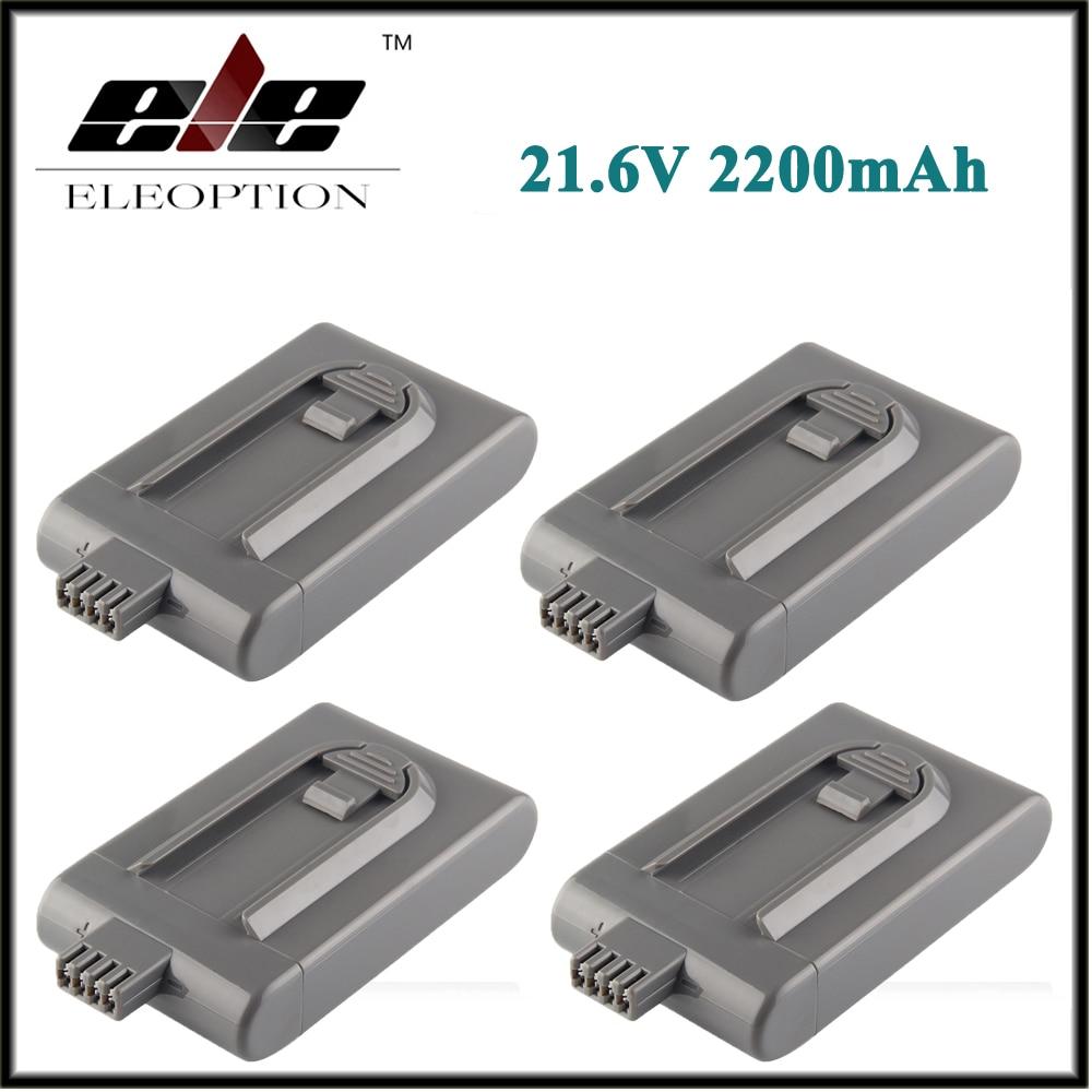 4 sztuk akumulator 21.6 V 2200 mAh dla Dyson odkurzacz DC16 DC12 12097 BP01 912433
