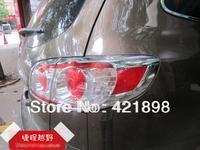 For Hyundai Santa Fe 2010 2011 2012 ABS chrome Tail light lamp cover trim 4 pcs