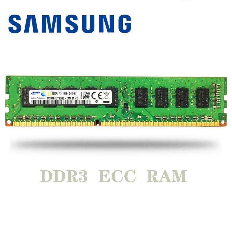 Samsung 2GB 8GB 4GB ECC DDR3 PC3 12800E 14900E 1600MHZ 1333Mhz 1866Mhz servidor escritorio memoria 1600, 1866, 1333 MHZ 8G RAM DIMM