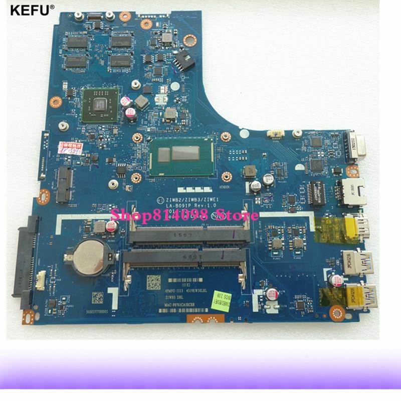Classy Motherboard Apto Para Lenovo Laptop Com CPU SR23W B50-70 i7-5500U ZIWB2/ZIWB3/ZIWE1 LA-B091P DDR3 Testado