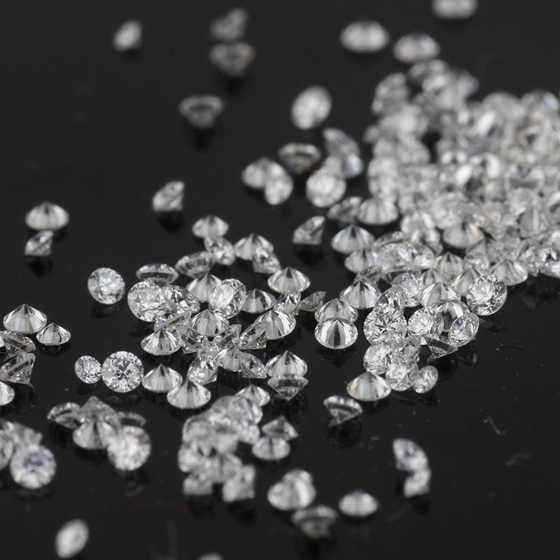Starsgem 20 قطعة 3m D VS HTHP جولة بريليانت قص مختبر نمت الماس عالية الجودة مختبر الماس لالأزياء والمجوهرات الإعداد
