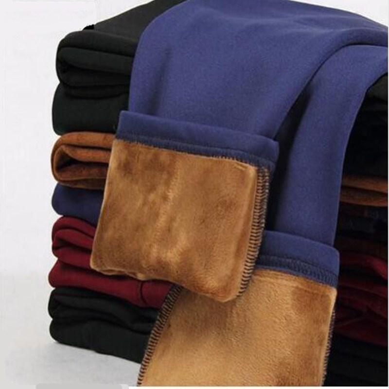 Wkoud S-4XL senhora leggings casuais inverno quente veludo engrossar leggings calças de cintura alta mulheres neve quente leggings bootcuts p8668