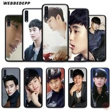 Webbedepp ator coreano kim soo hyun estojo de telefone macio para samsung a50s a40s a30s a20s a10s a60 a70 m10 m20 m30 m40 casos