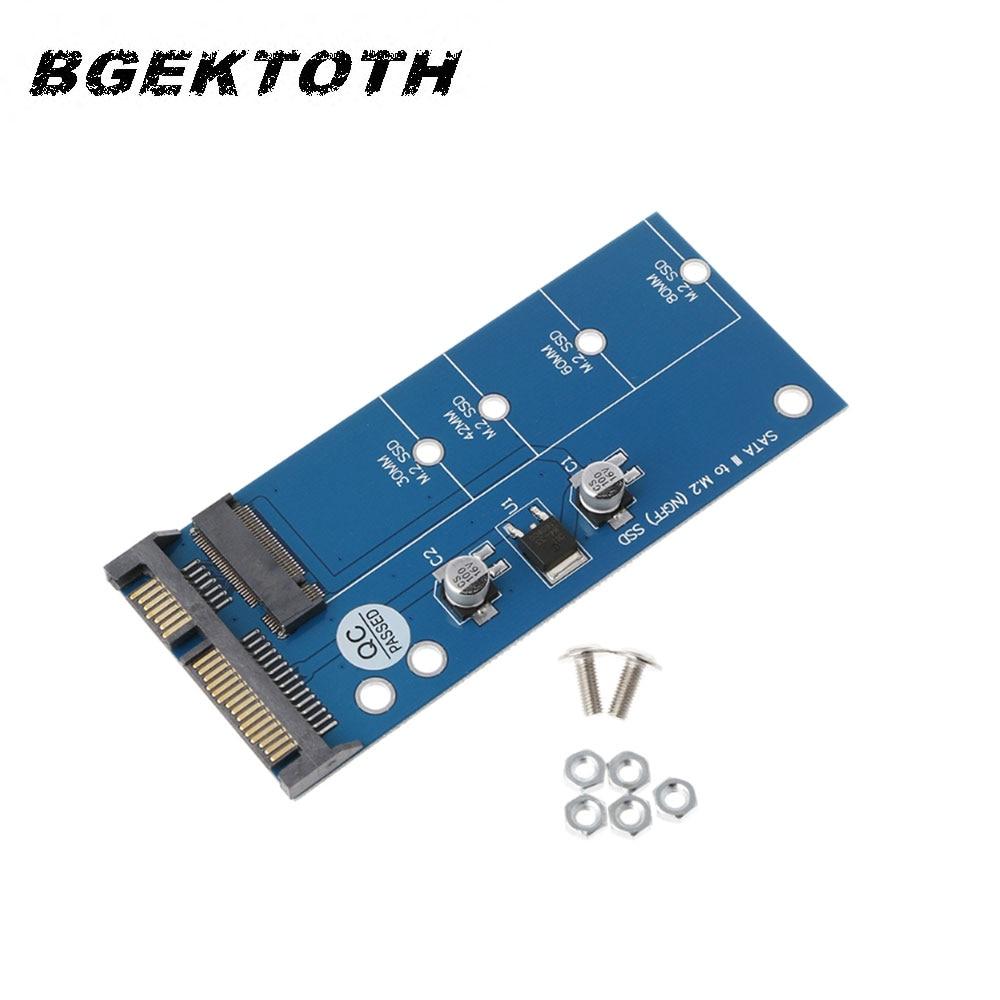 "M2 NGFF SSD до 2,5 ""SATA 3 адаптер карта расширения адаптер SATA для NGFF конвертер"