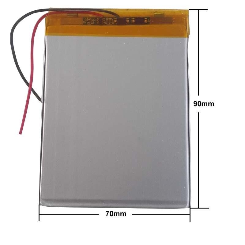 """Batería de intercambio interno 3000mAh para 7 """"Supra M722/GiNZZU GT-W170 LTE baterías de la tableta reemplazo número de seguimiento"""