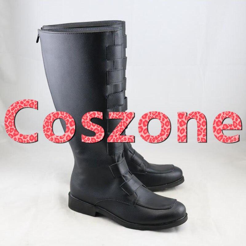 Zapatos de Cosplay de qui-gon Jinn, botas para Halloween, carnaval, fiesta, Cosplay, accesorio de disfraz