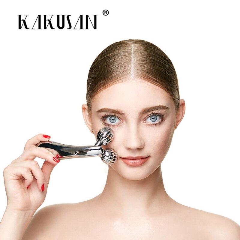 Инструменты для лифтинга лица Kakusan, роликовый лицевой массажер для лица y-образной формы