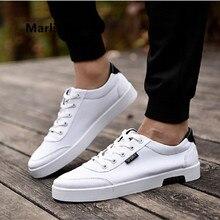 Mannelijke Schoenen Male Fashion High Quality White Comfortable Lace Up Shoes Men Casual Shoes Leisure Anti Skid Shoes G2695