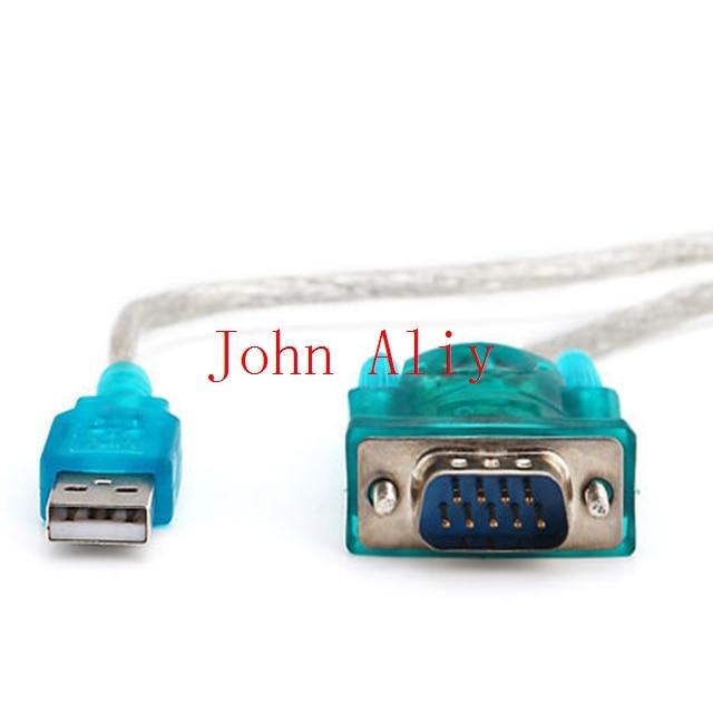 Venta al por mayor Gran oferta USB 2,0 a SERIAL RS232 DB9 9 PIN CABLE adaptador PDA CABLE conversor GPS