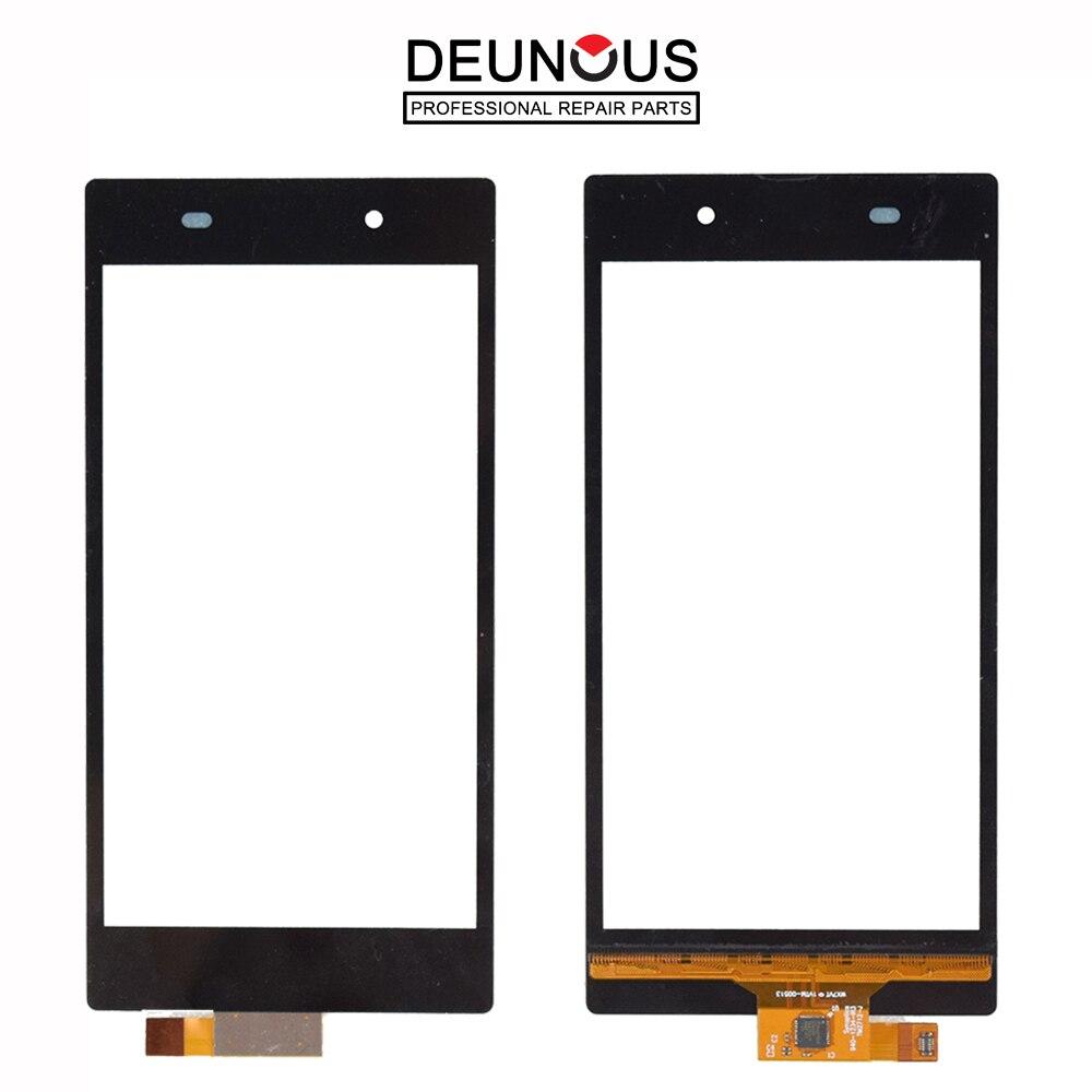 Nuevo para Sony Xperia Z1 L39h C6902 C6903 C6943 Panel táctil digitalizador Sensor Panel de vidrio