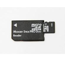 Mini Memory Stick Pro Duo Card Reader Новый Micro SD TF для MS Card адаптер для PSP конвертер