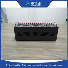 IMEI modifiable 16 ports multi-sim gsm modem MTK M35 en vrac sms modem 16 cartes sim multi-port modem pool