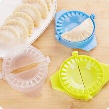 Herramienta para hacer Dumplings Jiaozi autenticada de calidad, Clips de molde para Dumplings, accesorios de cocina, molde de silicona, 1 unidad