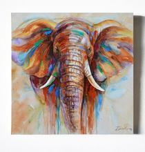 2017 5D DIY Diamond Painting Religious Crystal Diamond Painting Cross Stitch Long Nose Elephant Needlework Home Decorative BJ869