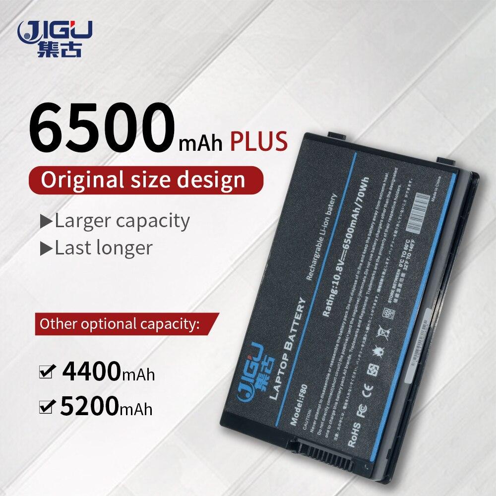 Jigu bateria de substituição para asus A32-F80 A32-F80A A32-F80H f80s
