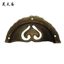 [Haotian vegetarian] antique copper handle / bowl handle / copper fittings / antique buckle hand HTD-103