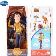 43 cm Disney Toy Story 3 parlant boisé Action jouet figurines poupées parlent anglais Fun Pull poupée enfants cadeau de noël