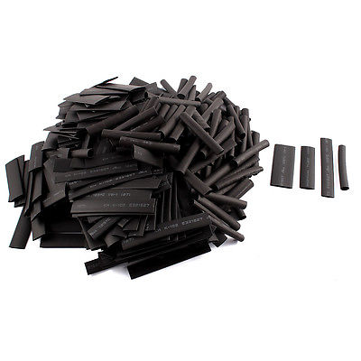 400 piezas. 21 Tubo termorretráctil tubo manga Cable cubierta envoltura 50mm 70mm largo 4 tamaño