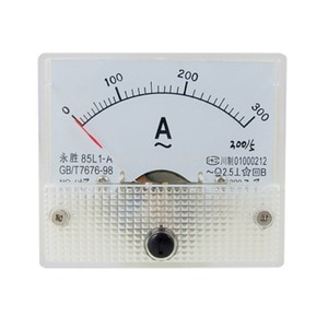 AC Analog Meter Panel 300A AMP Current Ammeters 85L1 0-300A Gauge