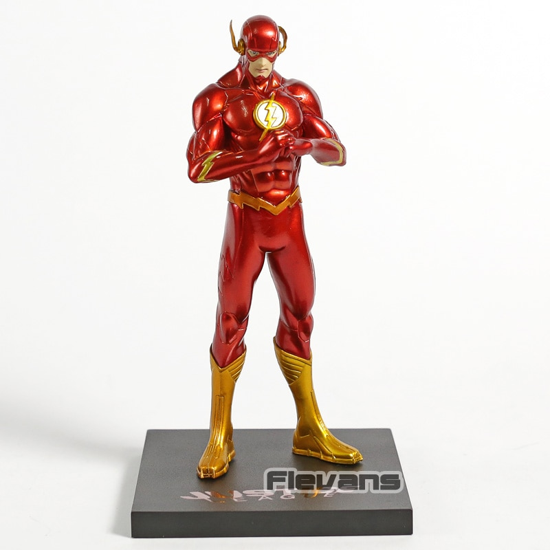 ARTFX+ STATUE New 52 The Flash 1/10 Scale PVC Figure DC Comics Collectible Model Toy