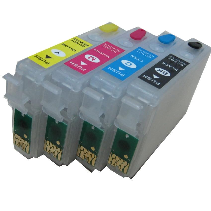 T1811 -T1814 18 многоразовый картридж для EPSON Expression Home XP-30 XP-102 XP-202 XP-205 XP-302 XP-305 XP-402 XP-405