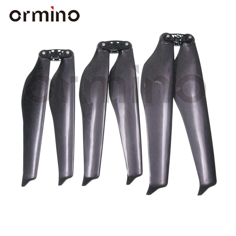 Ormino-مروحة قابلة للطي مقاس 32 بوصة ، محرك T رباعي ، مروحة من ألياف الكربون 34 36 بوصة بدون طيار RC قابلة للطي ، دعامة متعددة المروحيات