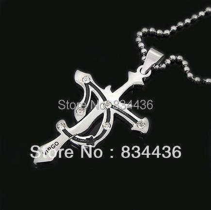 Collar de acero inoxidable con cadena de bolas, Horóscopo de astrología Zodiac, estilo constelación VIRGO, envío gratis