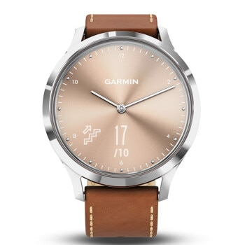 Garmin vivomove HR Luxury full steel Watch women Business Casual digital Wrist Watches Leather waterproof Relogio sports watch enlarge