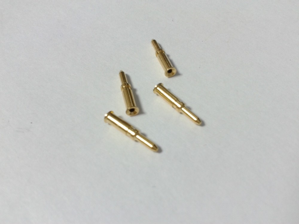 50PCS BNC Male RG58 pin for BNC RG58 Coax Coaxial adapter CONNECTOR enlarge
