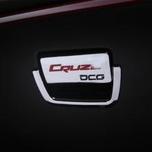 Tampa Da Caixa De Luva Pega Co-piloto pçs/set 2 Fecho De Armazenamento Tigela Mão Lantejoulas Etiqueta para Chevrolet Cruze Sedan Hatchback 2009- 2016