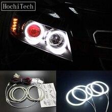 HochiTech Ultra bright SMD white LED angel eyes 2500LM 12V halo ring kit daytime light DRL for Chevrolet CAPTIVA S3X 2006-2011
