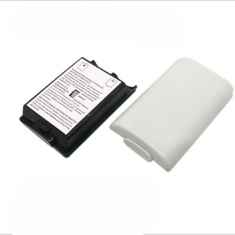 Migliore Batteria di Ricambio Pack Box Vano Della Copertura di Shell Shield di Caso per Xbox 360 Wireless Controller Gamepad, Senza pastella