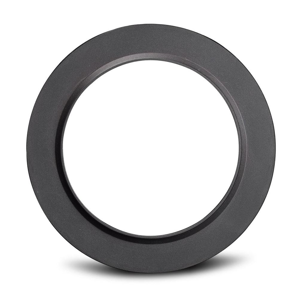 Anel adaptador de metal de alumínio 49mm/52mm/55mm/58mm/62mm/67mm/72mm/77mm/82mm para suporte de filtro da série zoei p