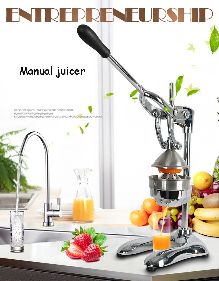 Stainless Steel Citrus Fruits Squeezer Orange Lemon Juicer Lemon Fruit Pressing Machine Press Juicer 45w 700ml household portable juicer electric orange lemon fruit squeezer extractor electric juicer extractor fruit press machine
