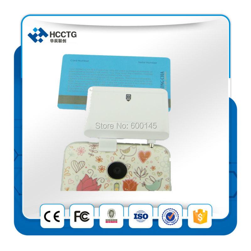 Android/ISO мобильный Магнитный кард-ридер машина/IC чип-кард-ридер/MSR полоса msr кард-ридер мини-ридер -- ACR32