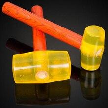 1 pièces! Marteau en caoutchouc multifonctionnel 120mm manche en bois Tendon marteau pour réparation outils à main ménagers