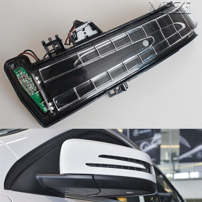 LED Rückspiegel Blinker Licht led Für Mercedes Benz W221 W212 W204 S300 S500 S350 S600 S400 C180 anzeige Blinker Lampe
