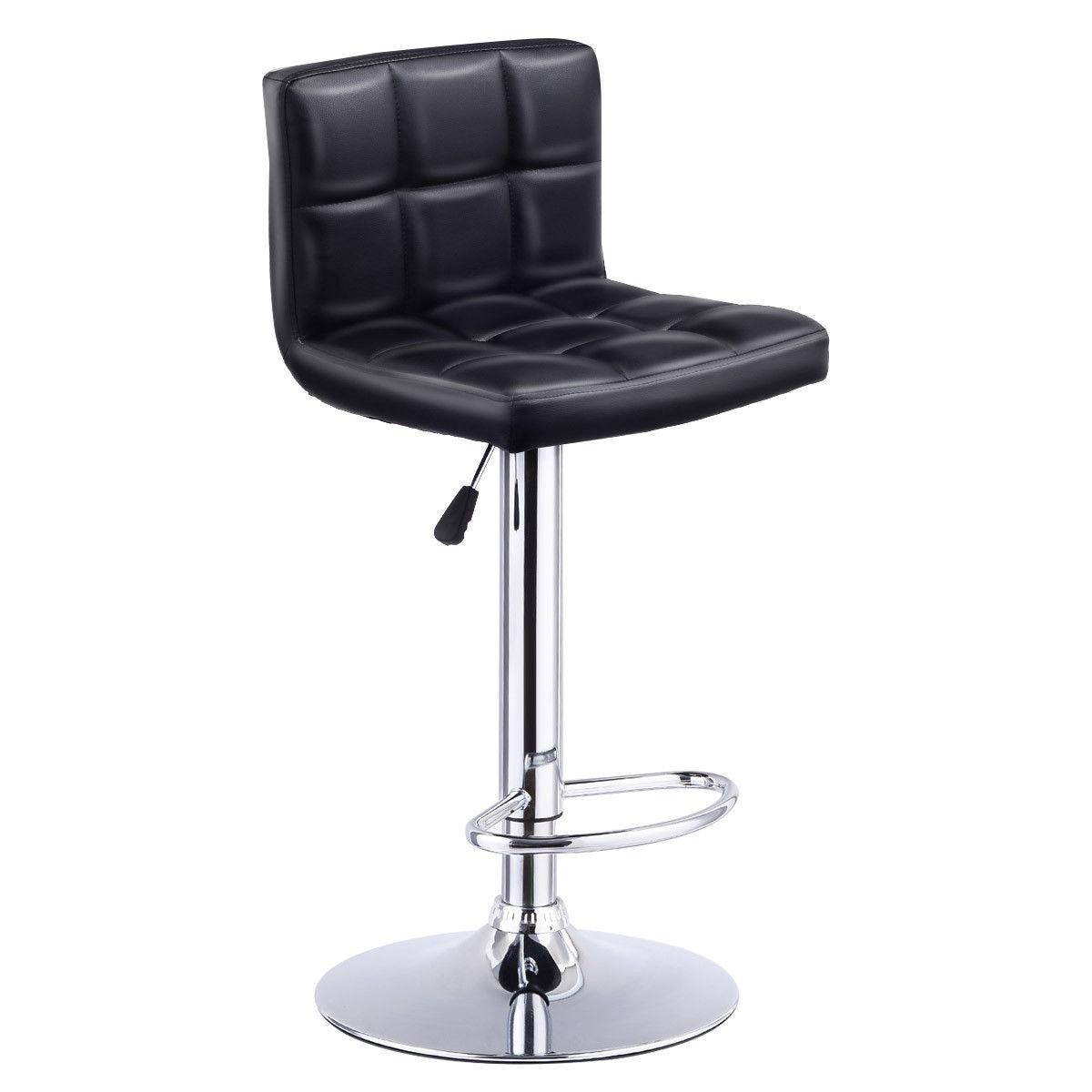 Регулируемая Мебель для бара Giantex, стул для бистро, паба, современная мебель для гостиной, барная мебель HW53843BK