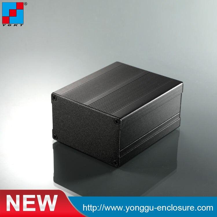 YGS-004 76*46-90mm (wxh-d) caja de instrumentos de aluminio pcb/disipador de calor de caja de aluminio para amplificador de coche